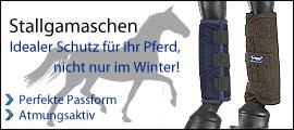 Stallgamaschen - Idealer Schutz f&uuml;r Ihr Pferd, nicht nur im Winter!