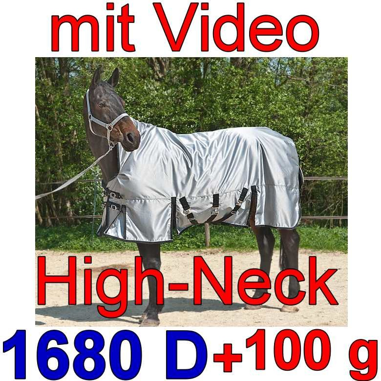 High Neck Pferdedecken Free moving