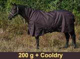 Winterdecke High-Neck Free moving - 200 g Cooldry 1800 D
